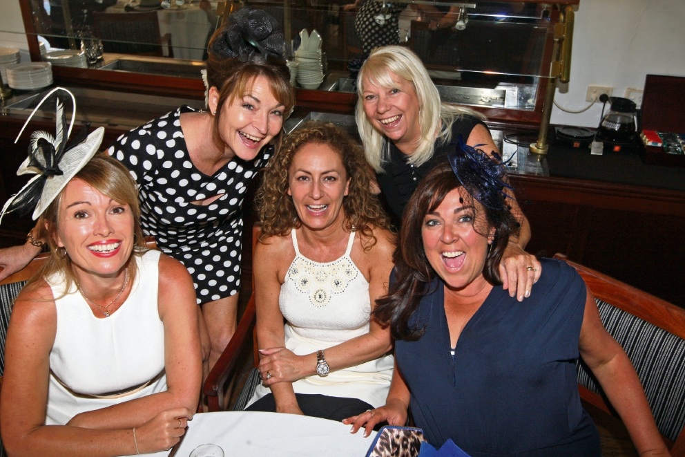 Linda Allen, Sandra O'Hara, Lorraine Aspel, Margaret Mulhern and Michelle Murray.