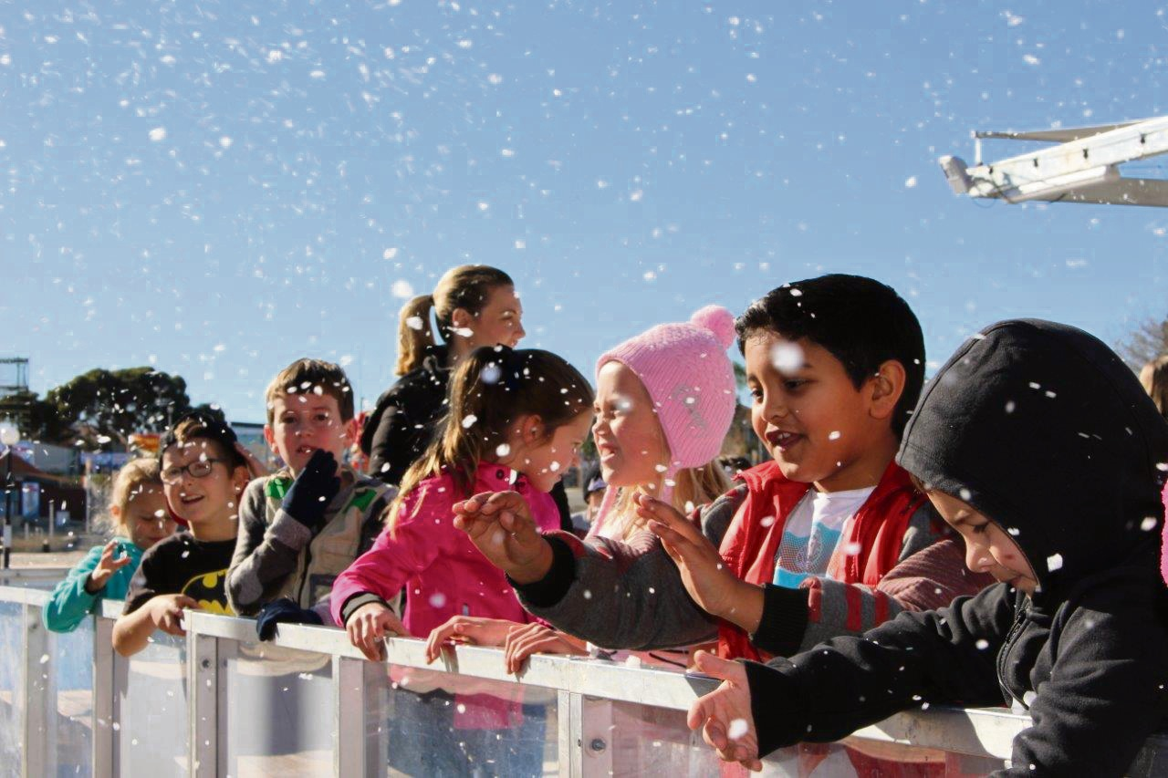 Lakeside Joondalup will have real ice skating rink in summer