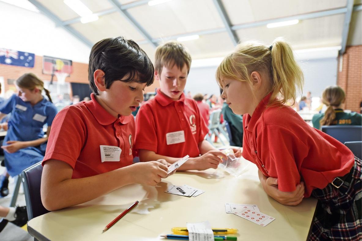 Collier Primary School sends team to AFG Interschool Numero Challenge grand final
