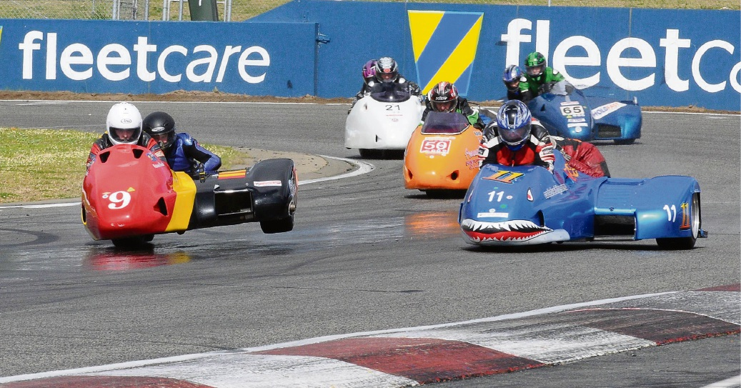Sidecars will feature heavily in the two-day event.