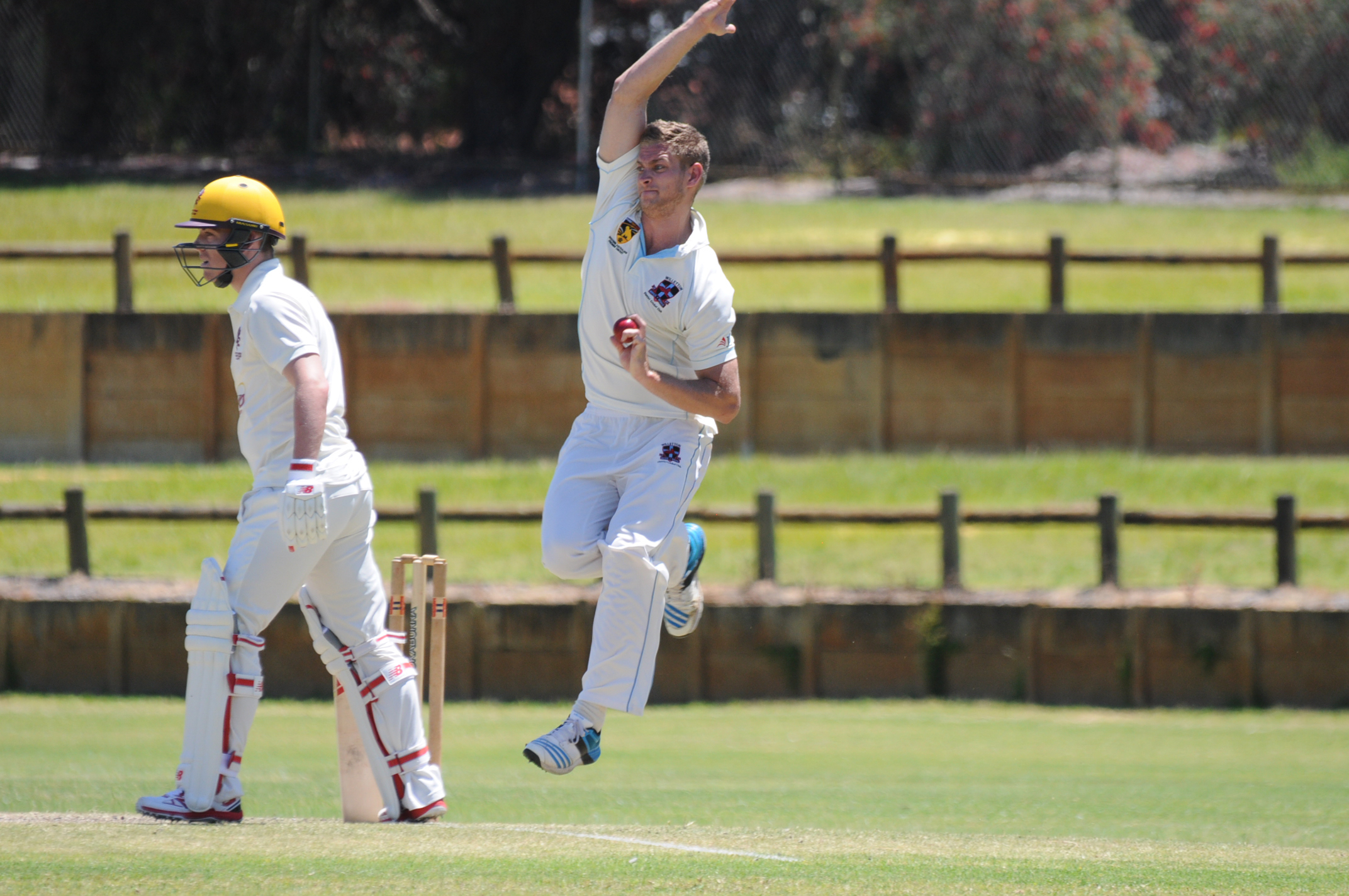 WACA Premier Cricket: Tim David dominates with bat and ball as Claremont-Nedlands go top