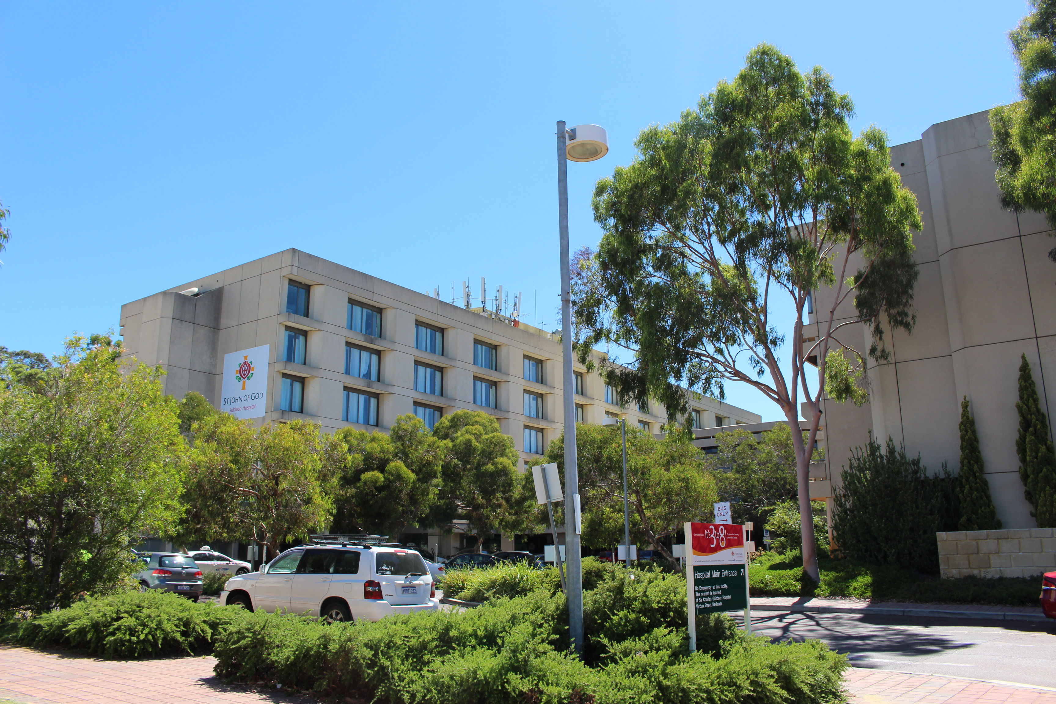 St John of God Hospital's Medical Centre in Subiaco will not be demolished