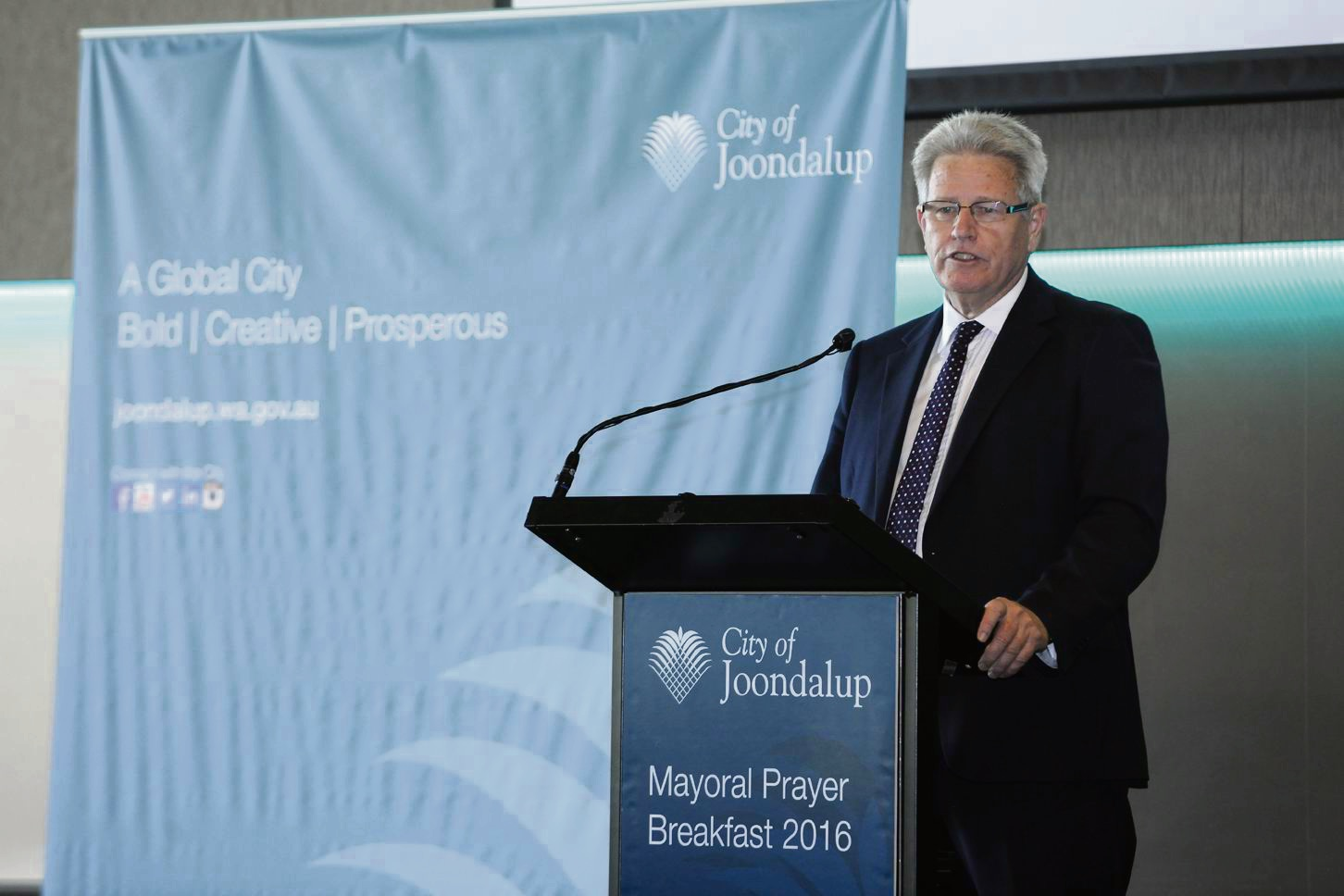 Joondalup chief executive Garry Hunt. Picture: Chris Kershaw