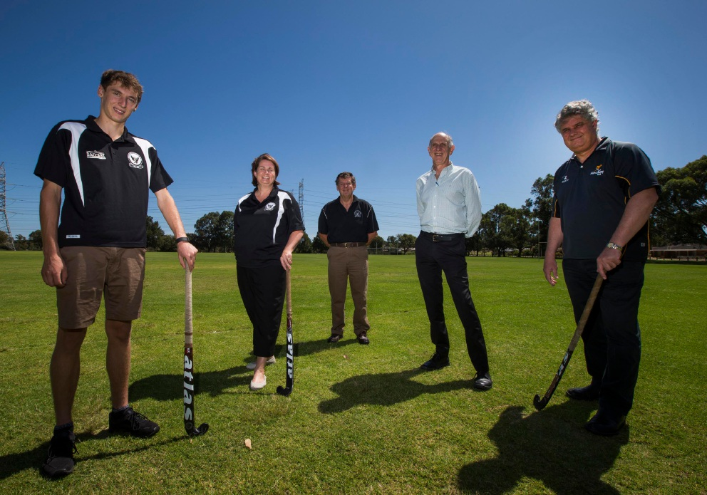 The City of Cockburn, Fremantle Hockey Club and Hockey WA are hoping to secure funding for facilities in South Lake.|Picture: Matt Jelonek  d451193