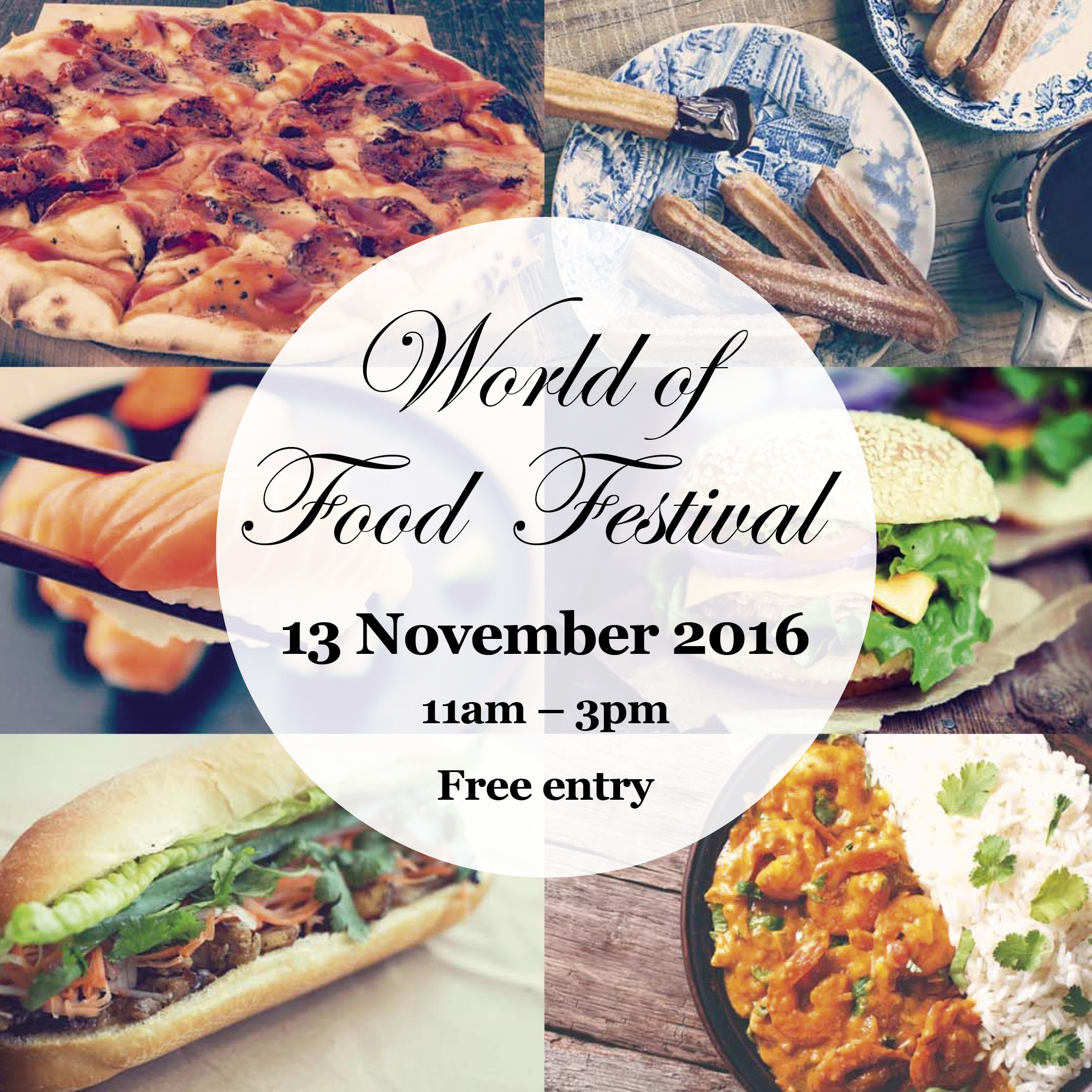World of Food Festival set for this Sunday