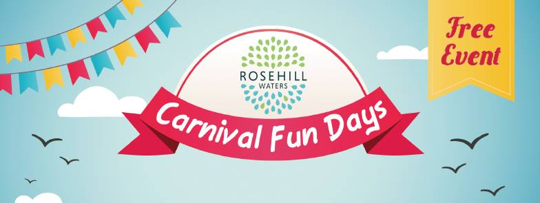 Carnival Fun Days at Rosehill Waters this Sunday
