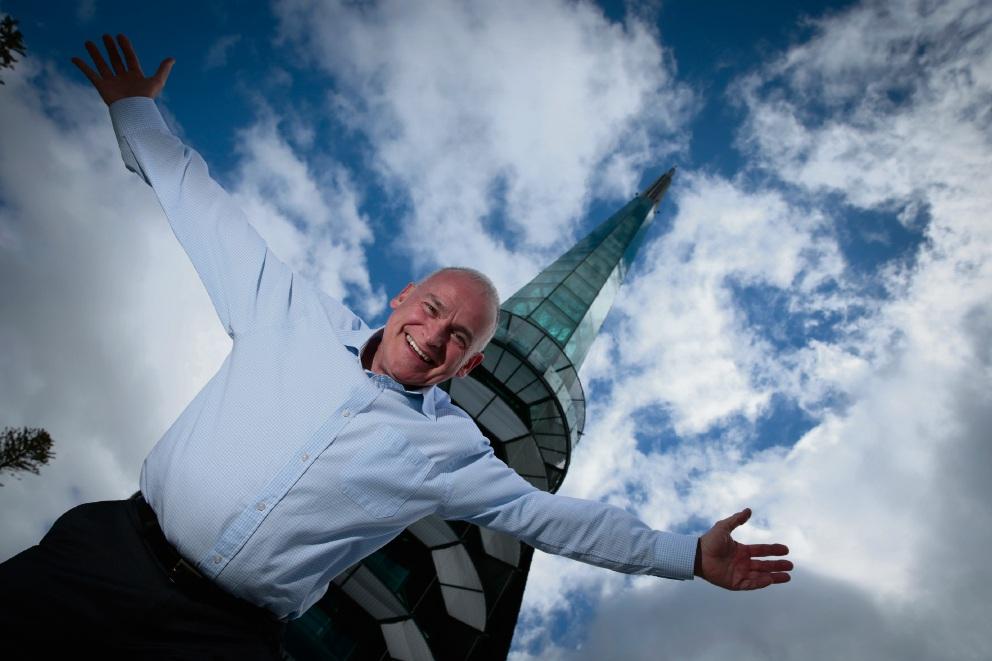Deputy Chair of Swan Bells Foundation Richard Offen.