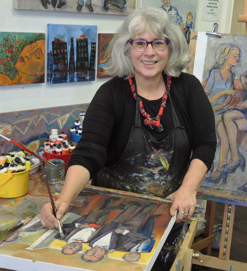 Toodyay Art Trail: Artist-art therapist Despina Weston has work in public and private collections.