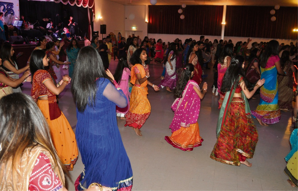 Hindus celebrate Navratri through dance at the annual Navrang Festival in Perth.
