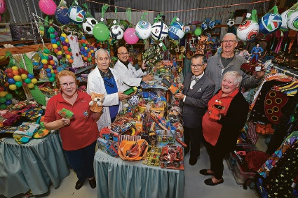 Cannington Santa's Workshop elves get ready to make Christmas brighter for kids in need