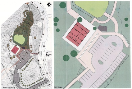 Draft plans of the Mary Lindsay Homestead redevelopment.