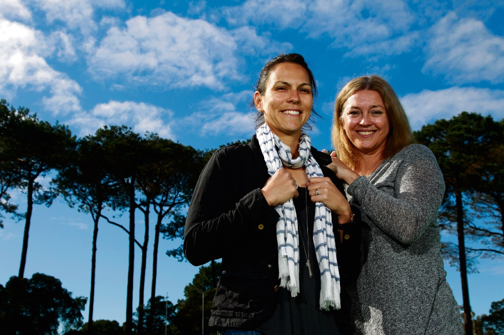 WA hockey umpires Melissa Trivic and Tammy Standley recently returned from the Rio Olympic Games, epitomising the success of the women's game.  Picture: Marie Nirme  d457074