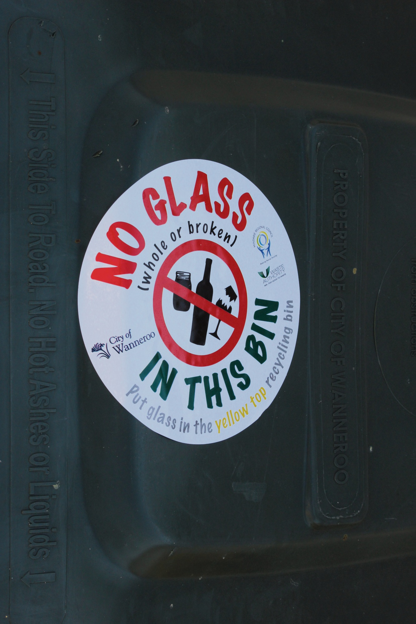 Mindarie Regional Council wins state award for 'no glass' campaign