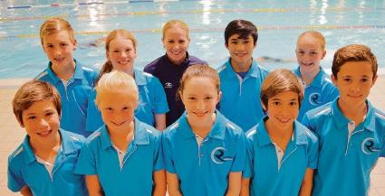 10 Riverton Aquanauts collect Swimming Australia junior excellence awards