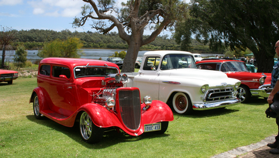 Hot Rods in the Park hit Yanchep National Park on Sunday