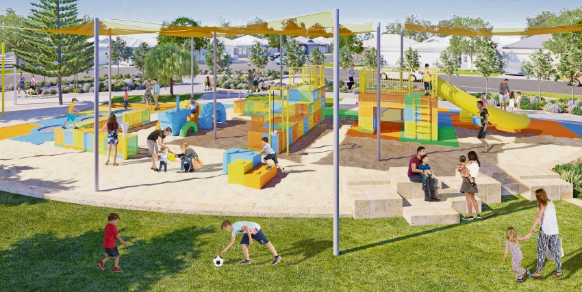 The new park in Golden Bay should be open early next year.