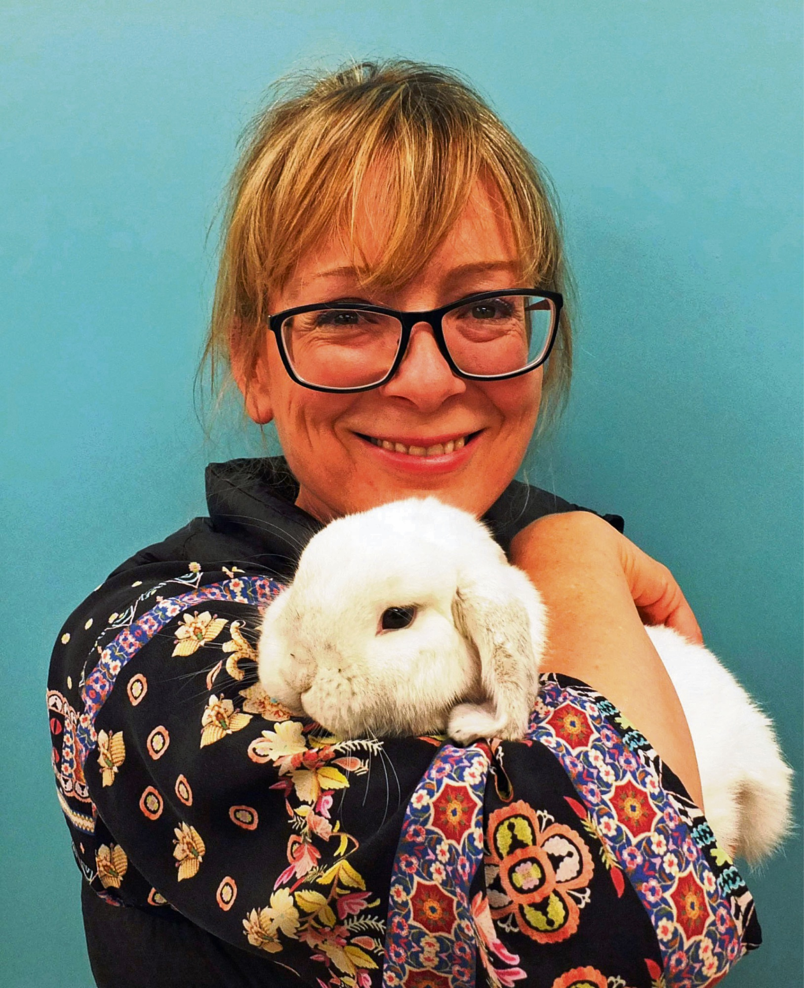 Sue Reid is hoping Chinook, her lovable, laid back mini lop rabbit, will blitz the competition.