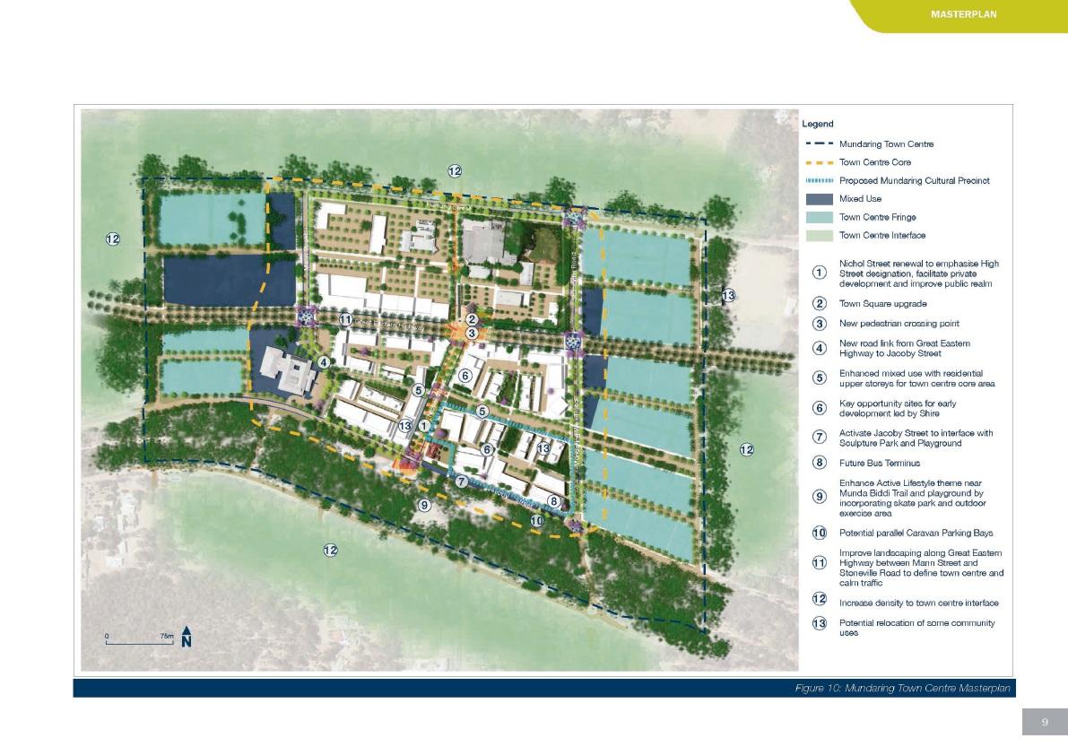 Shire of Mundaring adopts draft plan to revitalise Mundaring town centre
