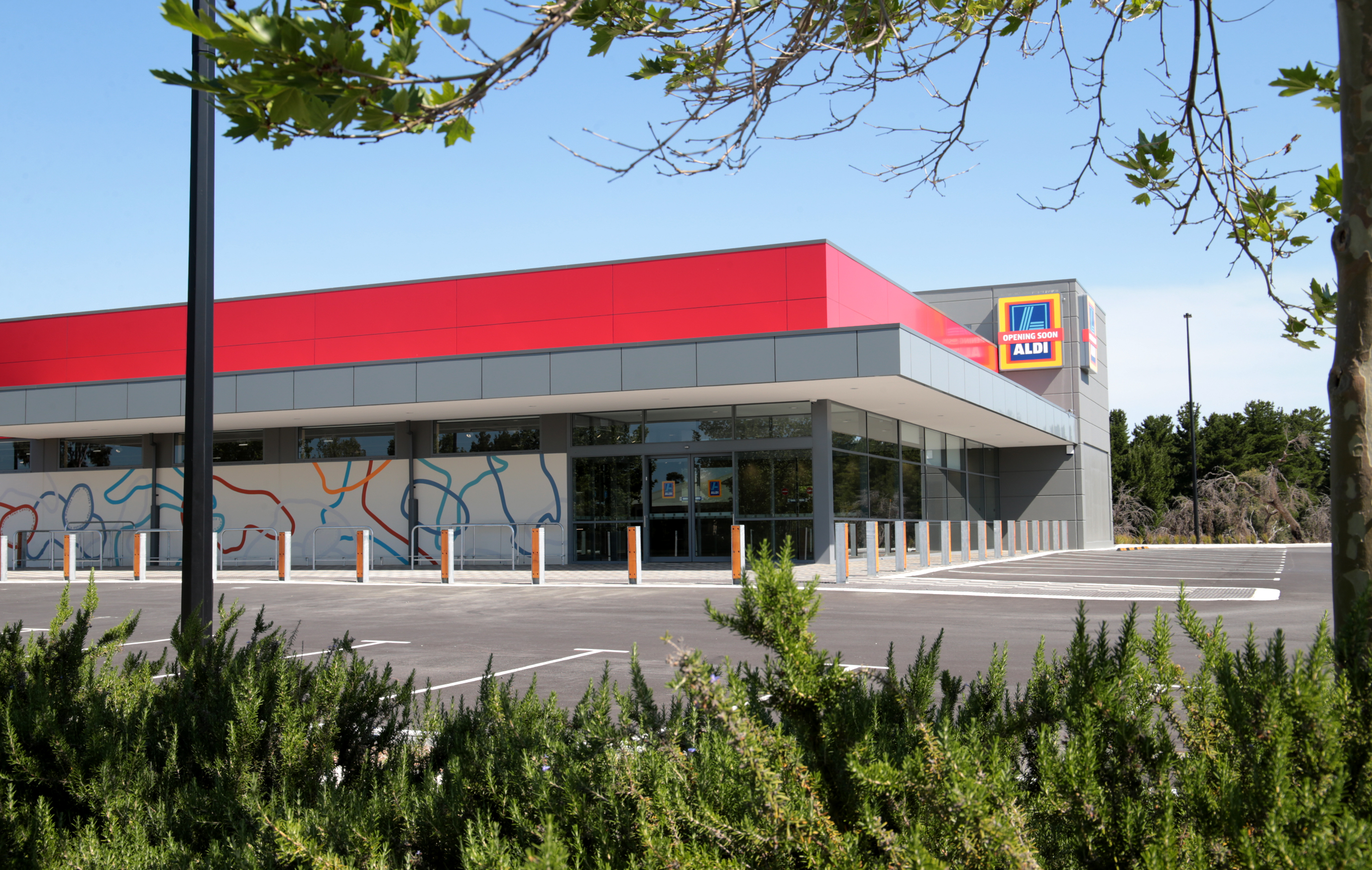 The new Aldi store in Ellenbrook set to open on November 16. Picture: David Baylis d461439