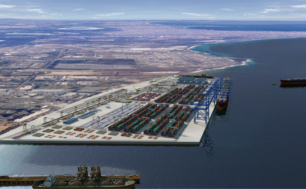 The vision for an outer harbour.