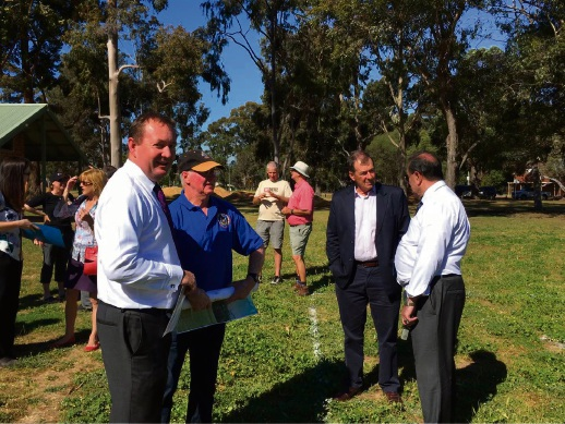Minister upbeat about Chidlow Anzac memorial