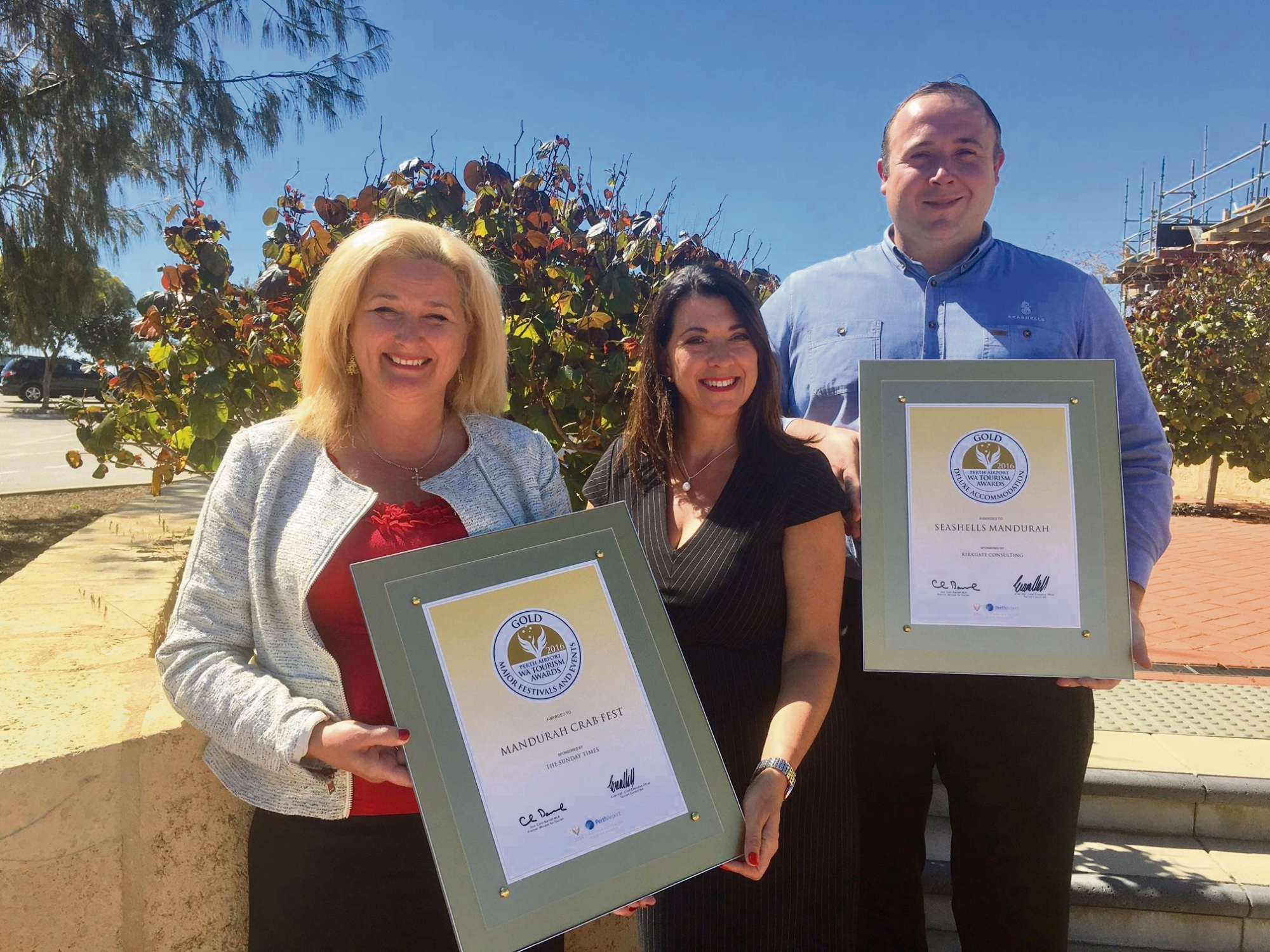 Mandurah Crab Fest and Seashells Mandurah win WA Tourism Awards
