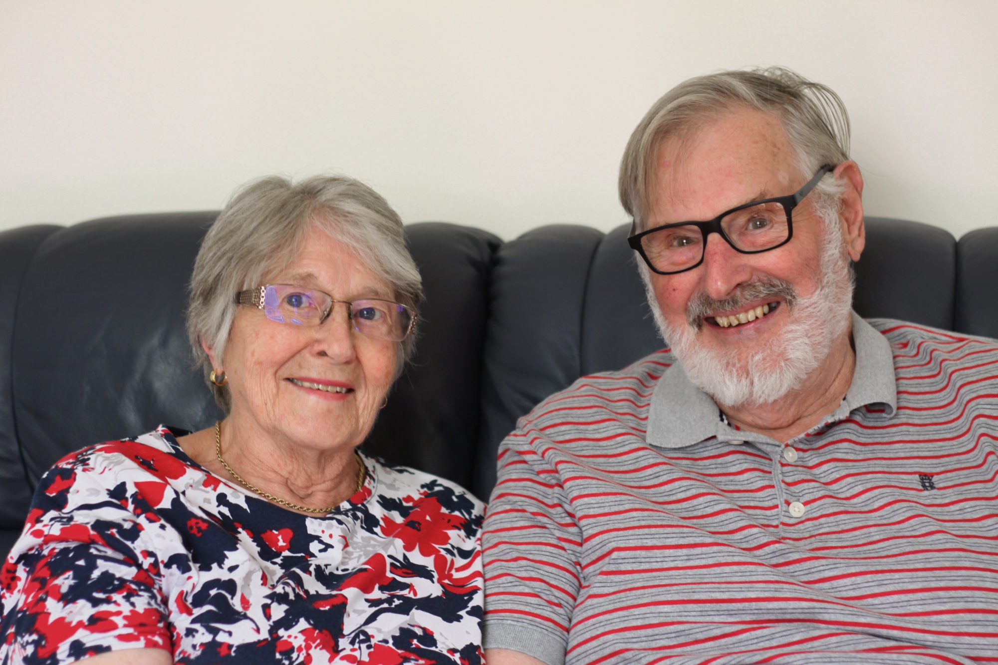 Betty and Brian have been married for 60 years.