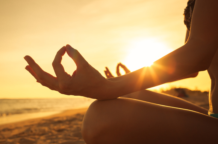 Beach yoga sessions at South Beach this Saturday