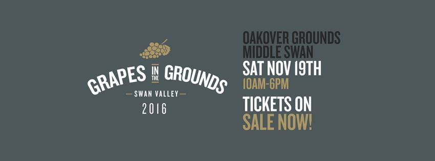 Grapes in the Grounds set to hit the Swan Valley this Saturday