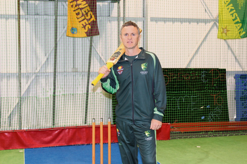 Andrew Walton will end his career this month in competitive cricket at the 2016 Indoor Cricket Masters World Series.