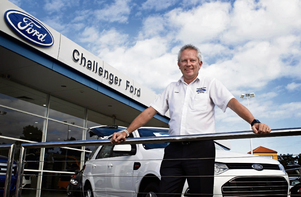 Challenger Ford dealer principal John Jones is celebrating 20 years with AHG.