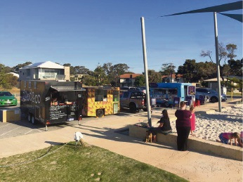 Food Truck collective pop-ups in Mandurah