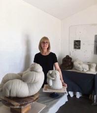 Quinns Rocks artist Lesley Whitham.