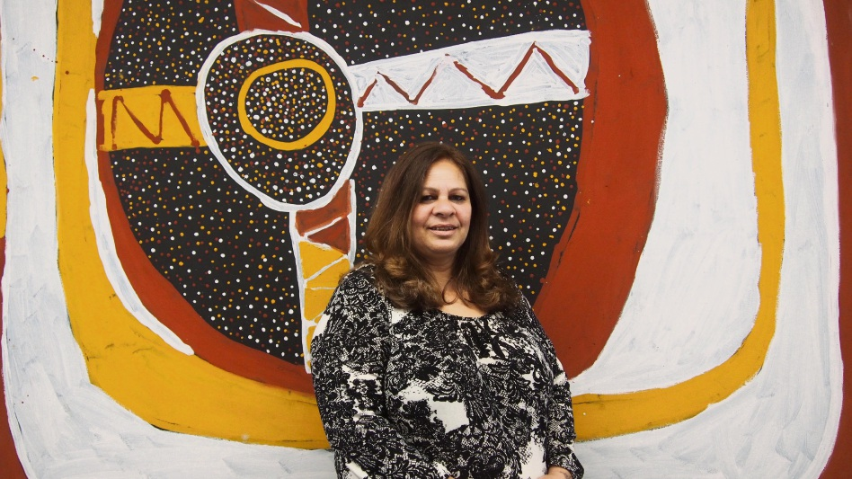 History maker: Yamatji woman Christine Clinch has been appointed director of Aboriginal health at St John of God Midland Public Hospital.