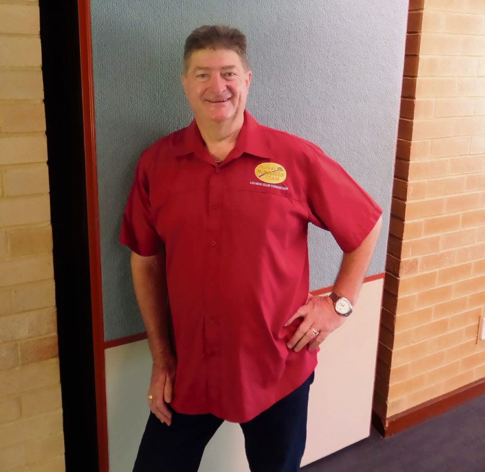 Barry Middleton will hold an information session for a Mindarie Lions Club.