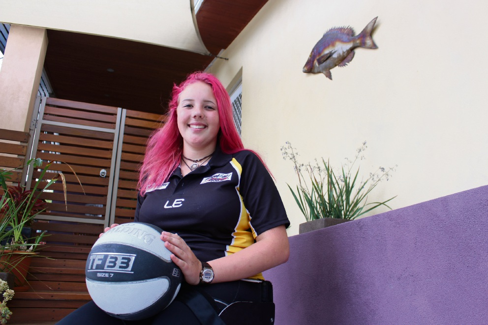 Paralympian hopeful: Melville resident Anneka Bodt has been nominated for a WA Youth Award.