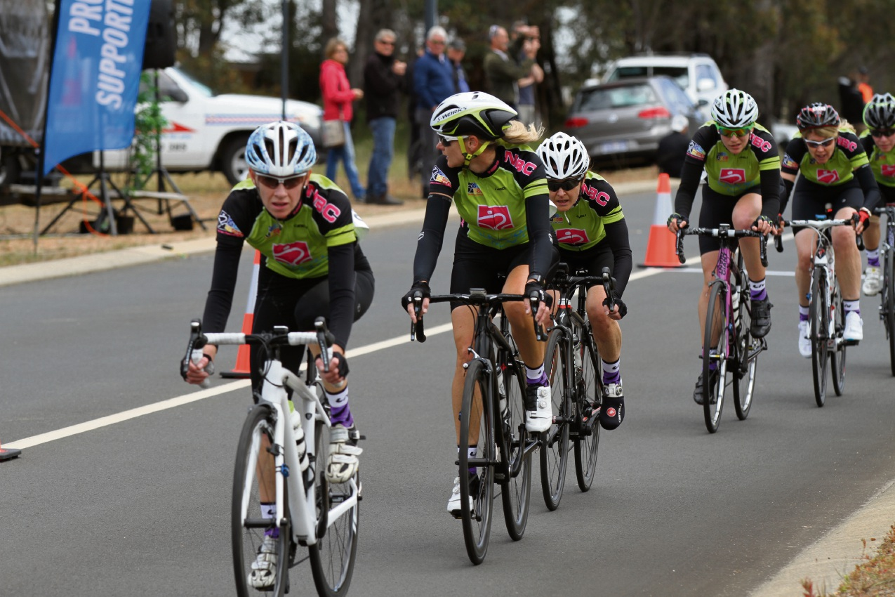 Northern Beaches Cycling Club members riding in the Satalyst Tour of Margaret River. Picture: Dave Kaestner