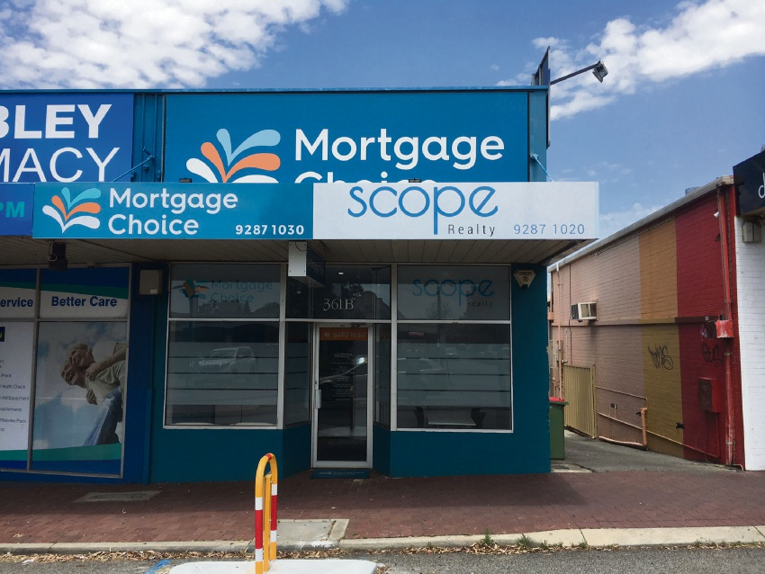 Mortgage Choice Wembley opens Scope Realty
