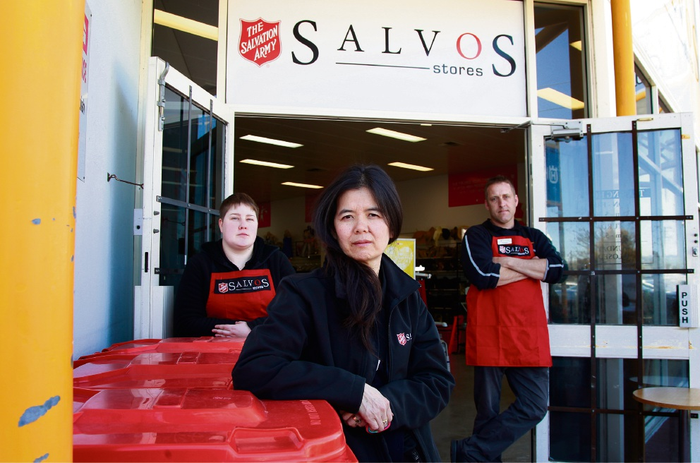 Salvos and Vinnies stores targetted by criminals in southeastern suburbs