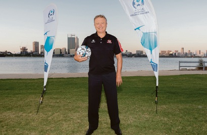 Armadale Soccer Club coach Paul Price sees a bright future for the club.