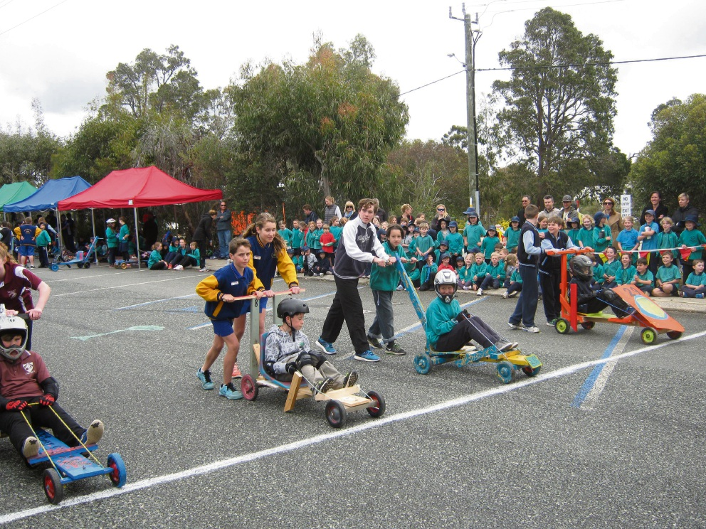 Hot Dog, we have a winner: Falls Road Primary claims 10th annual Lesmurdie Le Mans