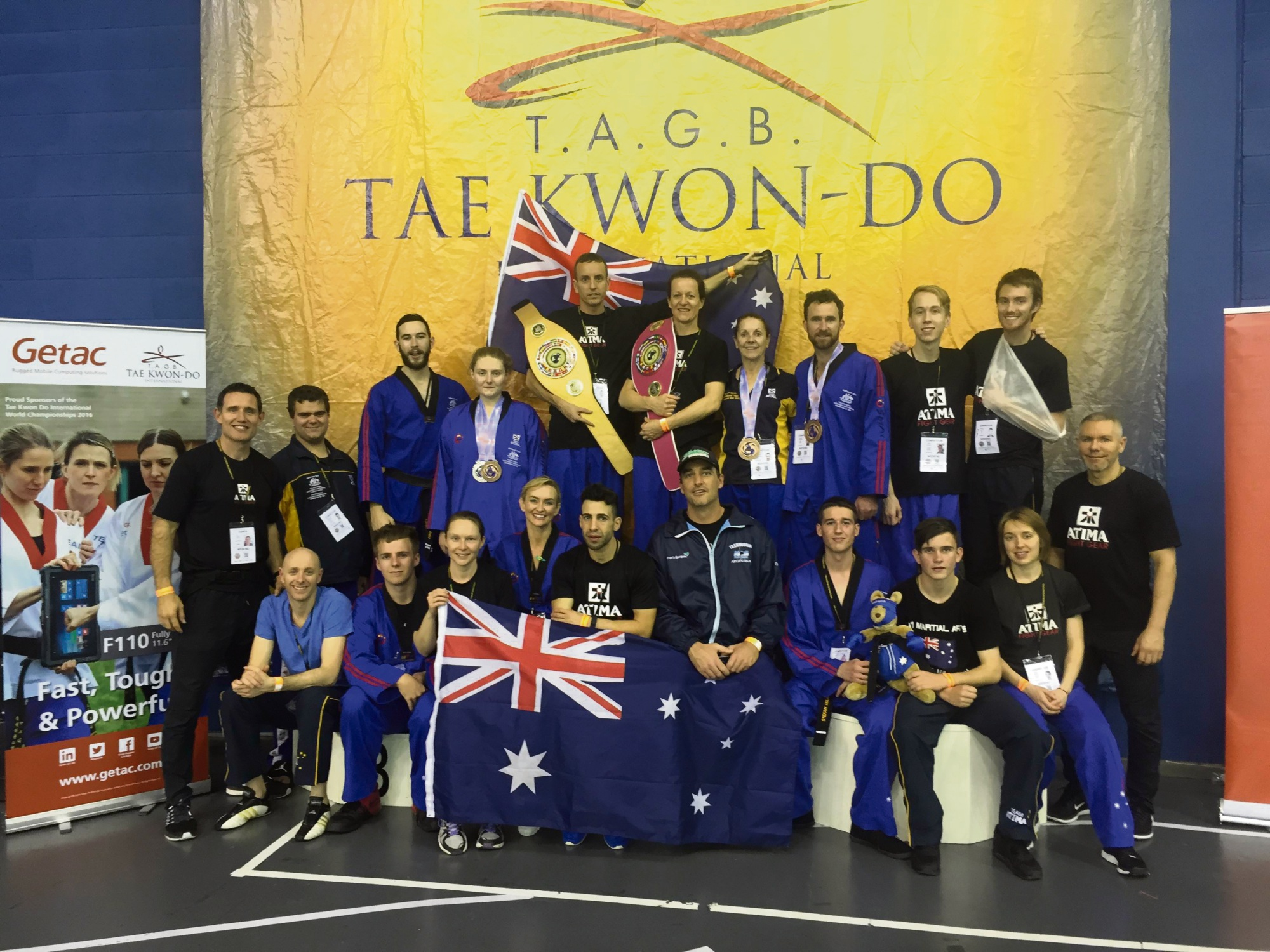 Scarborough: ATI Martial Arts picks up swag of medals at taekwondo world champs event