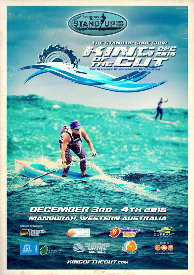 North Freo Stand Up Surf Shop presents King of the Cut in Mandurah