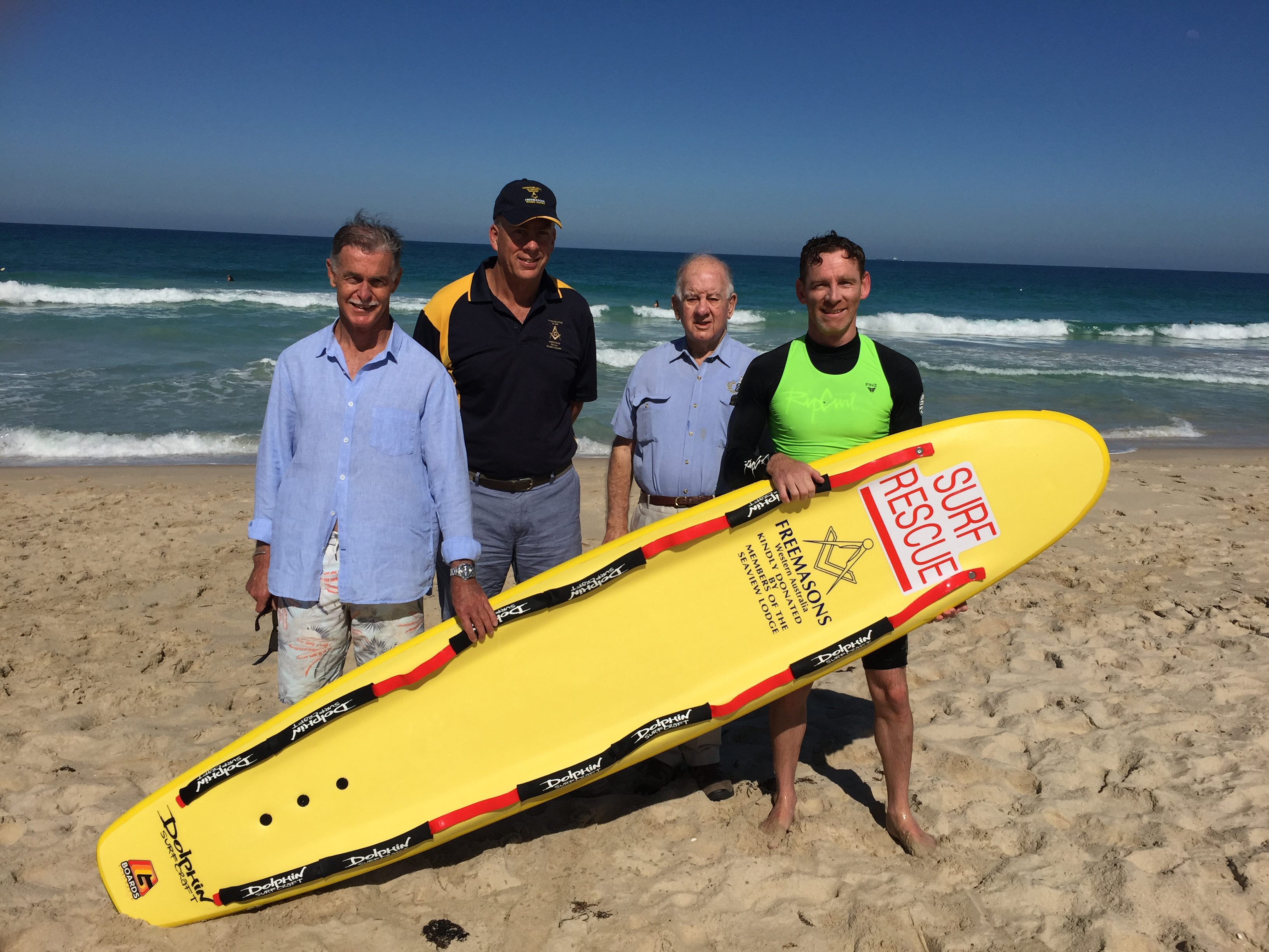 Scarboro Surf Life Saving Club gets new rescue boards