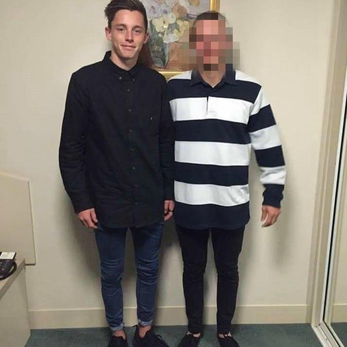 Jamie Murphy (left).
