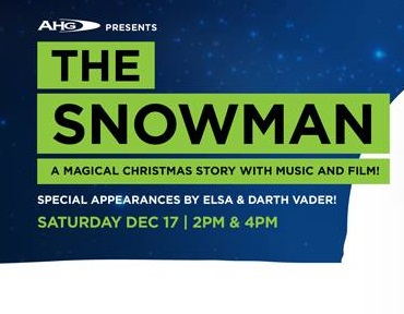 AHG presents 'The Snowman', performed by Perth Symphony Orchestra