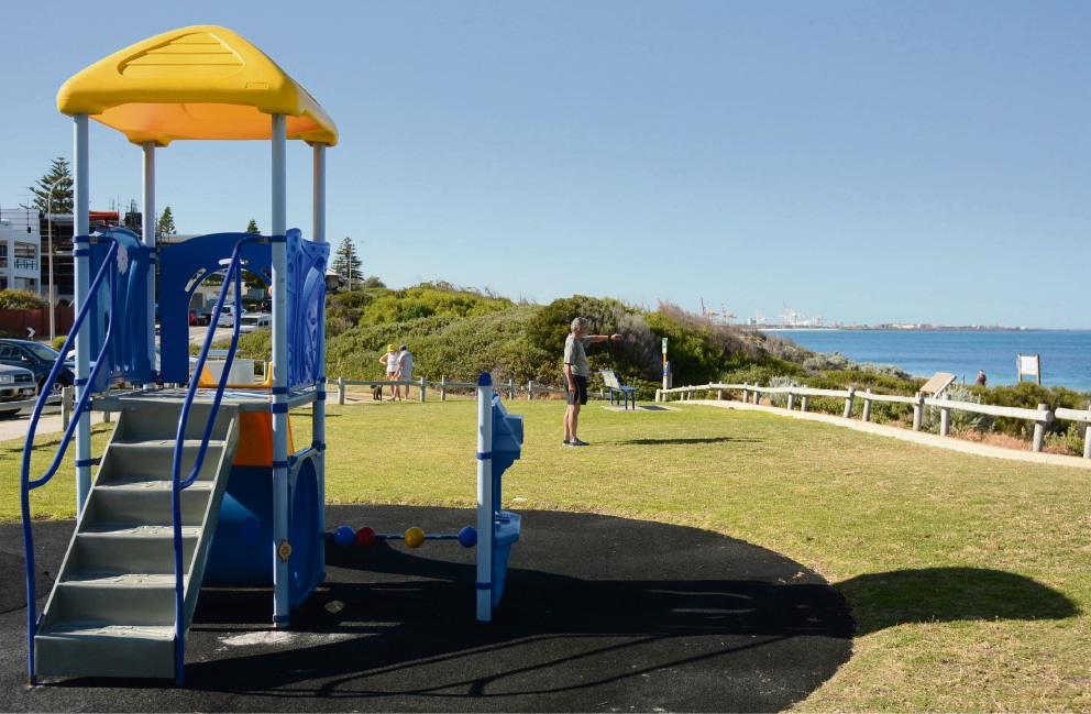 A proposed watchtower between the Dutch Inn playground and groyne is causing controversy.