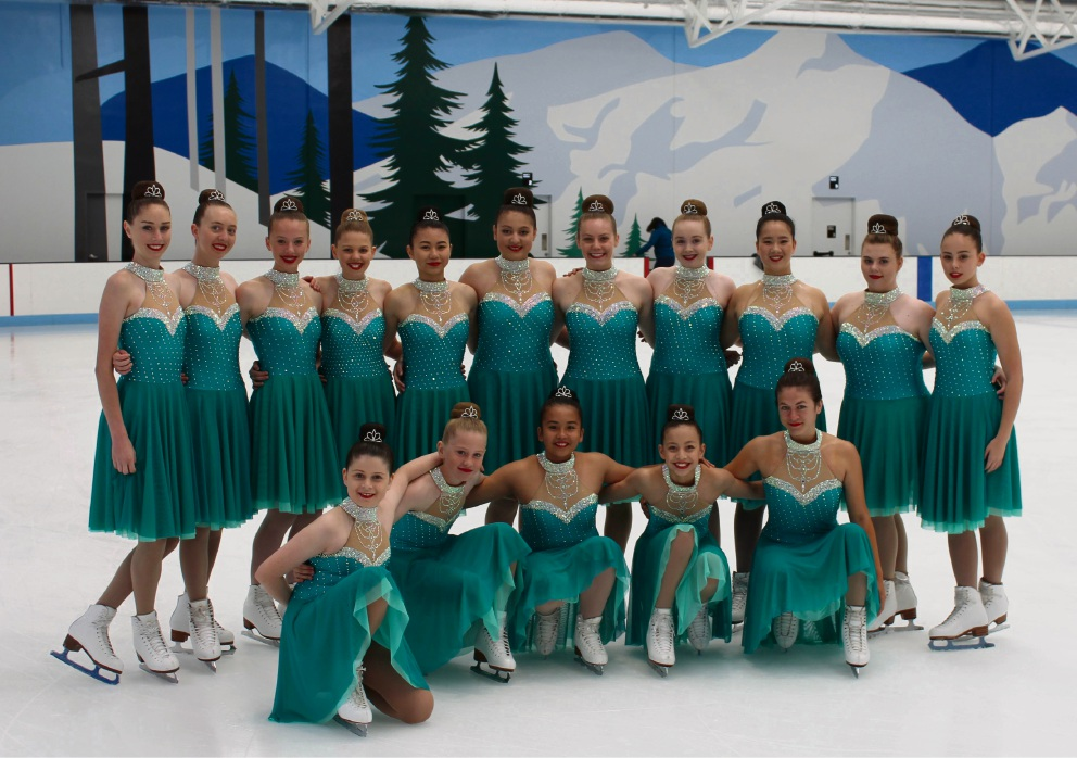 The Jitterbugs are competing in Melbourne. Siobhan Bristol is standing third from the right.