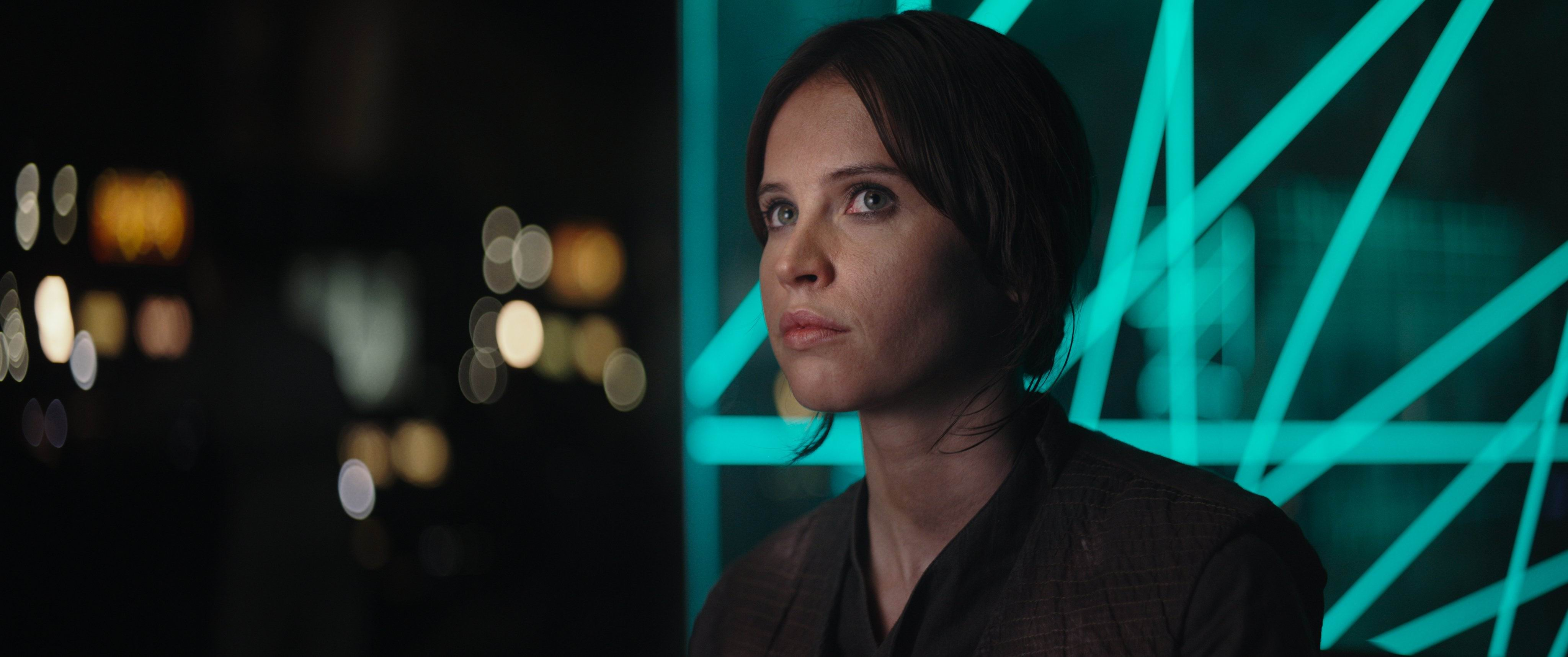 Felicity Jones in Rogue One: A Star Wars Story. Picture: Disney