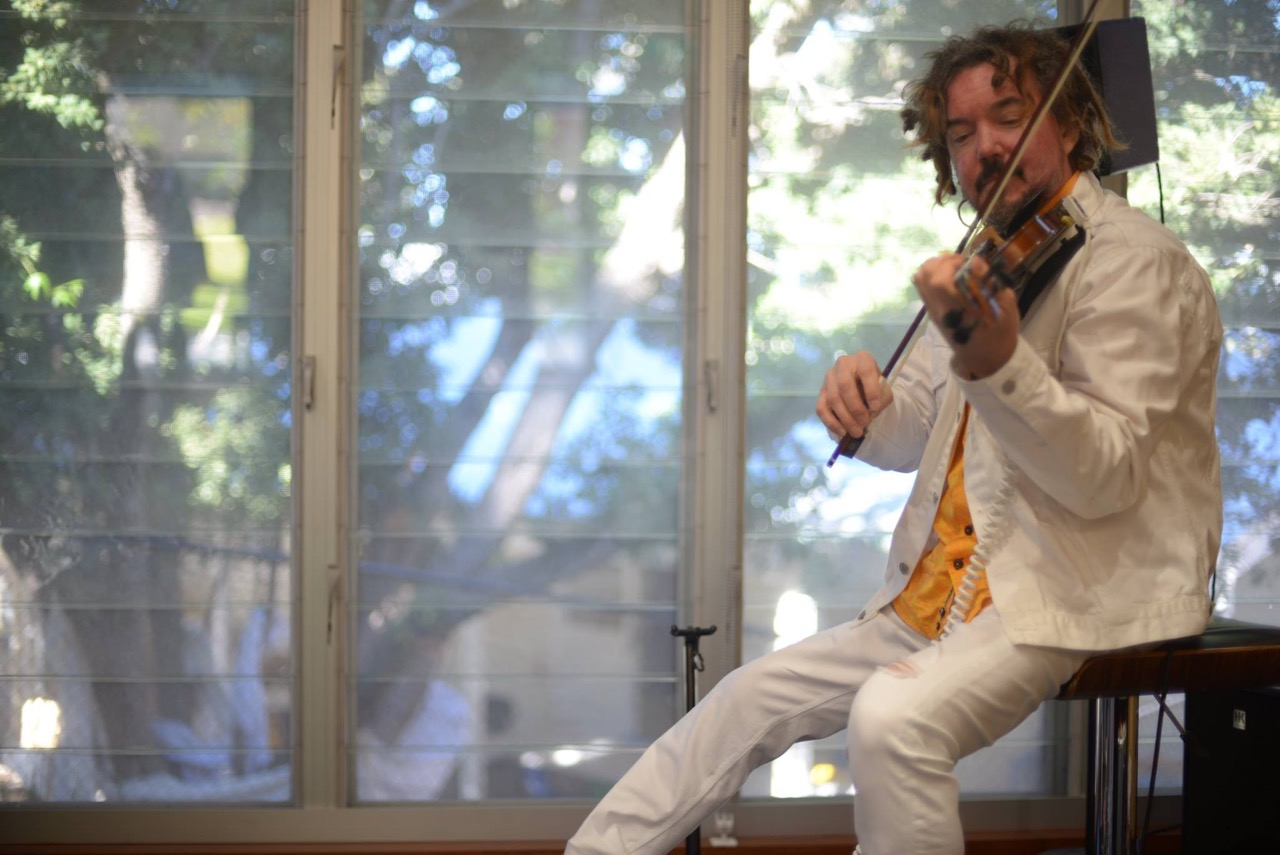 International violinist Rupert Guenther appearing in Bedfordale